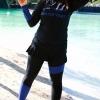 ชุดว่ายน้ำคนอ้วน พร้อมส่ง :ชุดว่ายน้ำไซส์ใหญ่แฟชั่นสีดำแต่งสีน้ำเงินแขนขายาว set 4 ชิ้นใส่ได้หลายแบบมาพร้อมกระโปรงแบบสวยน่ารักมากๆจ้า:รายละเอียดไซส์คลิกเลยจ้า