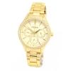 นาฬิกาผู้หญิง Citizen รุ่น ED8162-54P, Gold Dial Analog Quartz Watch
