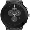 นาฬิกาผู้ชาย Citizen Eco-Drive รุ่น AT2245-57E, Axiom Stealth All Black IP Chronograph