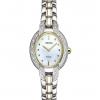 นาฬิกาผู้หญิง Seiko รุ่น SUP325, Solar Diamond Two-Tone Stainless Steel