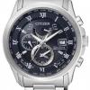 นาฬิกาข้อมือผู้ชาย Citizen Eco-Drive รุ่น AT9080-57L, Global Radio Controlled AT Sapphire