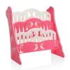 Kids Bookshelf Pink สีชมพู ชั้นวางหนังสือ 3 ชั้น