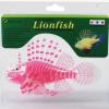 ปลาสิงโตปลอมซิลิโคลนเรืองแสงสีชมพู(ตัวใหญ่)