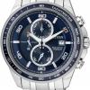 นาฬิกาข้อมือผู้ชาย Citizen Eco-Drive รุ่น CA0346-59L, Super Titanium 100m Sapphire Japan Chronograph Watch