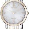 นาฬิกาผู้หญิง Citizen Eco-Drive รุ่น EX1496-82A, Sapphire Dual Tone Women's Watch