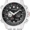 นาฬิกาข้อมือผู้ชาย Citizen Eco-Drive รุ่น JZ1061-57E, Promaster Sky World Time Chronograph