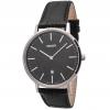 นาฬิกาผู้ชาย Orient รุ่น FGW05004B, Slim Collection Minimalist Leather Strap Quartz Men's Watch