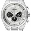 นาฬิกาข้อมือผู้ชาย Citizen Eco-Drive รุ่น CA4011-55A, Super Titanium 100m Sapphire Japan Chronograph
