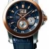 นาฬิกาผู้ชาย Seiko รุ่น SNP126P1, Premier Kinetic Perpetual Calendar Sapphire Blue