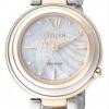นาฬิกาข้อมือผู้หญิง Citizen Eco-Drive รุ่น EM0335-51D, Sapphire Mother Of Pearl Elegant