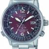 นาฬิกาผู้ชาย Citizen Eco-Drive รุ่น AS5010-51W, Promaster Radio Controlled Pilot
