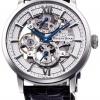 นาฬิกาผู้ชาย Orient รุ่น RK-DX0001S, Orient Star Skeleton Mechanical Hand Winding Power Reserve Men's Watch