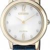 นาฬิกาผู้หญิง Citizen Eco-Drive รุ่น EX1493-13A, Sapphire Swarovski Women's Watch