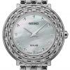 นาฬิกาผู้หญิง Seiko รุ่น SUP373, Tressia Solar Stainless Steel Diamond