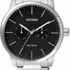 นาฬิกาผู้ชาย Citizen Eco-Drive รุ่น AO9040-52E, Multi-Dial Calendar Elegant Watch
