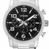 นาฬิกาข้อมือผู้ชาย Citizen Quartz รุ่น AN8050-51E, Chronograph 50m Watch