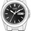 นาฬิกาผู้หญิง Citizen รุ่น EQ0560-50E, Quartz Elegant Day Date Stainless Steel