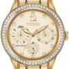 นาฬิกาข้อมือผู้หญิง Citizen Eco-Drive รุ่น FD2012-52P, Silhouette Swarovski Crystal