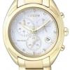 นาฬิกาข้อมือผู้หญิง Citizen Eco-Drive รุ่น FB1396-57A, Diamond Chronograph Sapphire Watch