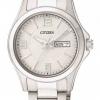 นาฬิกาผู้หญิง Citizen รุ่น EQ0591-56A, Silver Stainless Steel