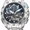 นาฬิกาข้อมือผู้ชาย Citizen Eco-Drive รุ่น JW0121-51E, Promaster World Time Sapphire Chronograph Japan Racing Watch