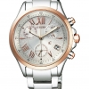 นาฬิกาผู้หญิง Citizen Eco Drive รุ่น FB1404-51A, XC Chrongraph Duratect Sapphire Japan