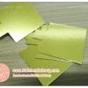 กระดาษรองมูส กระดาษรองเค้ก สี่เหลี่ยมจตุรัส สีทอง