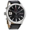 นาฬิกาผู้ชาย Diesel รุ่น DZ4444, Rasp Black Dial Chronograph Men's Watch