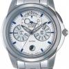 นาฬิกาผู้ชาย Citizen รุ่น BU0011-55A, Eco-Drive Moon Phase Sapphire Japan