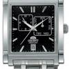 นาฬิกาข้อมือผู้ชาย Orient รุ่น SETAC002B0, Galant Japan Automatic Multi Dial Square