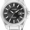 นาฬิกาข้อมือผู้หญิง Citizen Eco-Drive รุ่น EW1881-53E, Titanium Sapphire Japan 100m