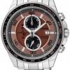 นาฬิกาข้อมือผู้ชาย Citizen Eco-Drive รุ่น CA0347-56W, Super Titanium 100m Sapphire Chronograph