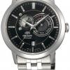 นาฬิกาข้อมือผู้ชาย Orient รุ่น SET0P002B0, Multi-Eyes Sun & Moon Sapphire Japan Automatic
