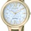 นาฬิกาข้อมือผู้หญิง Citizen Eco-Drive รุ่น EP5997-51A, Sapphire Japan Gold WR 50m Women's Dress Watch