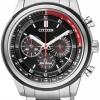 นาฬิกาข้อมือผู้ชาย Citizen Eco-Drive รุ่น CA4034-50F, 100m Multi-Dial Chronograph Watch