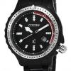นาฬิกาผู้หญิง Citizen รุ่น EP6025-57E, Eco-Drive Rare Black IP XC Sapphire Japan