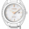 นาฬิกาข้อมือผู้หญิง Citizen Eco-Drive รุ่น EW2250-59A, Donna Diamonds Sapphire Japan