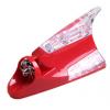ไฟ LED หูฉลามพลังงานลมสีแดง