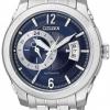 นาฬิกาข้อมือผู้ชาย Citizen Automatic รุ่น NP3000-54L, Meccanico Mechanical Sapphire Japan Watch