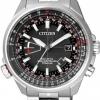 นาฬิกาข้อมือผู้ชาย Citizen Eco-Drive รุ่น CB0141-55E, Promaster Radio Controlled Sapphire Titanium