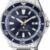 นาฬิกาข้อมือผู้ชาย Citizen Eco-Drive รุ่น BN0191-80L, Promaster Professional Diver's