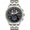 นาฬิกาผู้ชาย Seiko รุ่น SSC508, Prospex Solar World Time Chronograph Two-Tone