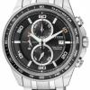 นาฬิกาข้อมือผู้ชาย Citizen Eco-Drive รุ่น CA0341-52E, Super Titanium 100m Sapphire Japan Chronograph Watch