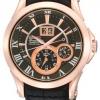 นาฬิกาข้อมือผู้ชาย Seiko รุ่น SNP036P1, Premier Kinetic Perpetual Calendar Sapphire Rose Gold Tone