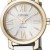 นาฬิกาข้อมือผู้หญิง Citizen Eco-Drive รุ่น EP5884-57A, Sapphire Japan Dual Tone Micro Dial Watch
