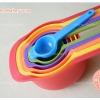 ชุดช้อนตวง สีสัน 6 ขนาด