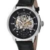 นาฬิกาผู้ชาย Stuhrling Original รุ่น 133.33151, Executive Automatic Skeleton Black Leather
