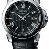 นาฬิกาผู้ชาย Seiko รุ่น SNE455P2, Premier Solar Sapphire