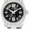 นาฬิกาข้อมือผู้หญิง Citizen Eco-Drive รุ่น EW2101-59E, 100m Super Titanium Sapphire