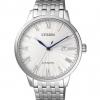 นาฬิกาผู้ชาย Citizen รุ่น NJ0080-50A, Automatic Sapphire 50m Silver Dial